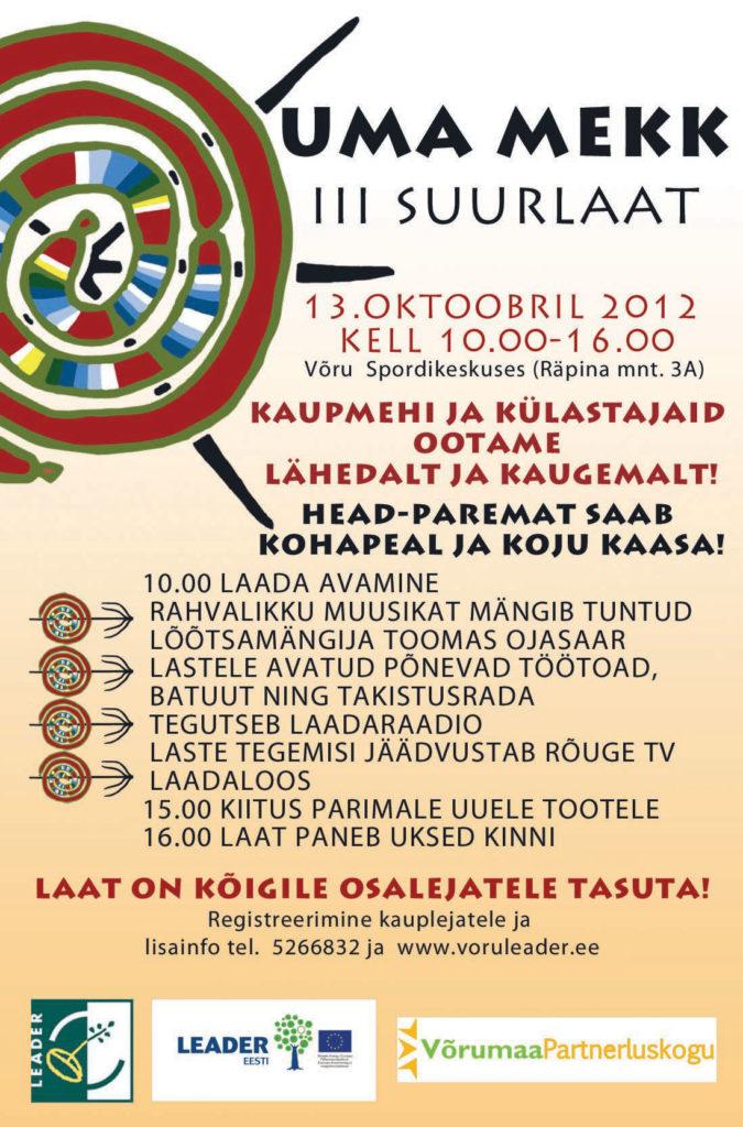 Uma Mekk Suurlaat 2012 banner