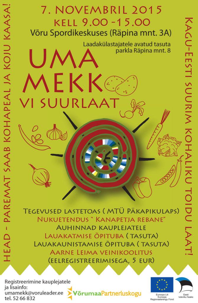 Uma Mekk Suurlaat 2015 banner