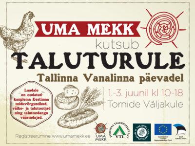 Uma Mekk taluturg Tallinna Vanalinna päevadel